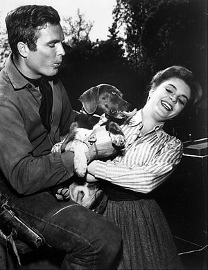Susan Seaforth Hayes - Hayes and Ty Hardin, 1962.