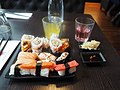 Sushi at restaurant Sushi House in Lohja.jpg