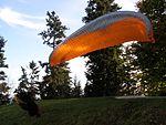 Svatoborská vrchovina, Svatobor, paragliding 02.jpg