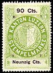 Switzerland Lucerne 1897 revenue 6 90c - 60 - E 1 97.jpg