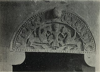 Tympanum of St Peter's Church, Charney Bassett