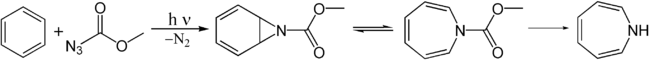 Synthese van azepine