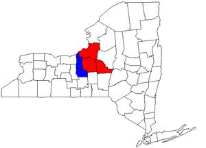 Syracuse metropolitan area - Image: Syracuse Auburn CSA