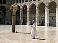 Syria, Damascus, The Umayyad Mosque, Muslim Devotee.jpg
