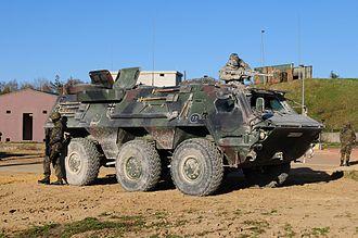 Rheinmetall MAN Military Vehicles - Image: T Pz Fuchs of the Bundeswehr