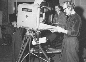 TV-kamera 1955