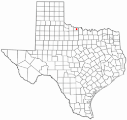 Location of Iowa Park, Texas