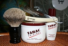 Kit para el afeitado masculino con navaja 4608a720c1f7