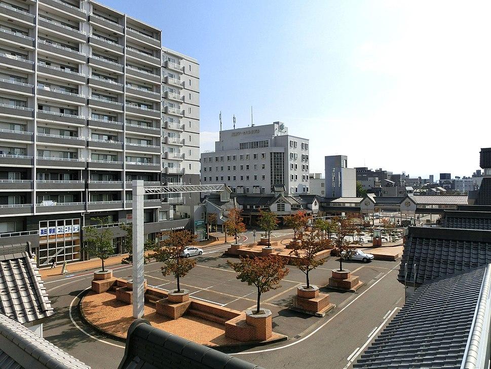 Takada station square