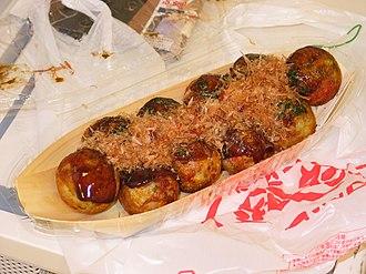 Octopus as food - Takoyaki
