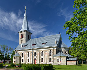 Tapa, Estonia - St. Jacobs Church.