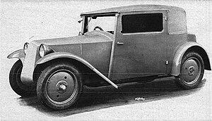 Tatra 57 - Image: Tatra 57 side
