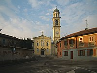 Tavazzano con Villavesco - frazione Villavesco - chiesa parrocchiale.jpg