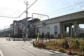Taya Station Railway station in Tokoname, Aichi Prefecture, Japan