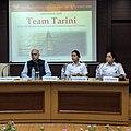 Team Tarini at Vivekananda International Foundation, Arvind Gupta, Director VIF also pictured.jpg