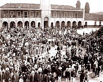 Tecpán Guatemala - Tecpán plaza in 1893.