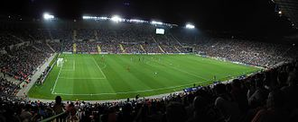 Beitar Jerusalem F.C. - Teddy Stadium, Beitar's home ground.
