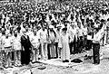Tehran Friday prayer of 27 July 1979 leading by Mahmoud Taleghani.jpg