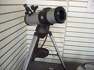 Celestron - Image: Telescope Celestron window