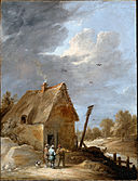 Teniers, David the younger - A Road near a Cottage - Google Art Project.jpg