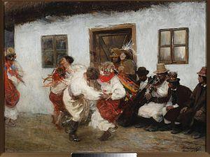 Kolomyjka - Kolomyjka by Teodor Axentowicz