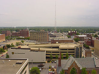 Terre Haute, Indiana - Downtown Terre Haute.