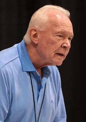 Terry Brooks - Brooks at a book signing at the 2017 Phoenix Comicon