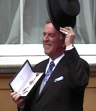 Terry Wogan - Image: Terry Wogan MBE Investiture cropped