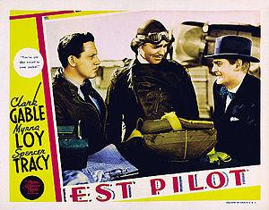 Test Pilot (film) - Image: Test Pilot lobby card 1938