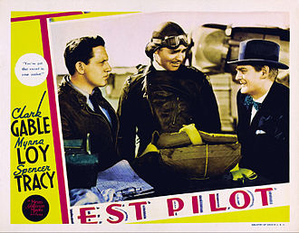 Test Pilot (film) - Image: Test Pilot lobby card 1938