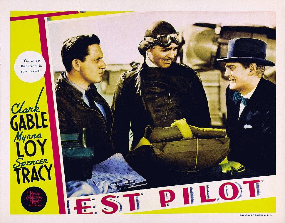 Test Pilot lobby card 1938