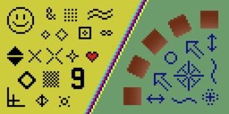 Pixel-art scaling algorithms - Image enlarged 3× with the nearest-neighbor interpolation