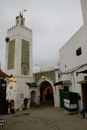 Tétouan - Medina and the mosque of Tetouan.