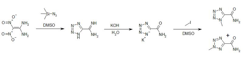 Synthese von Tetrazolderivaten