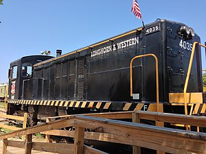 Texas Transportation Museum - Image: Texas Transportation Museum Locomotive