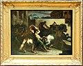 Théodore géricault, corsa dei cavalli scossi a roma, la mossa, 1817 ca.jpg