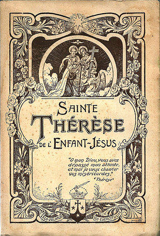 The Story of a Soul - Cover page of The Story of a Soul (l'Histoire d'une Âme) by Thérèse of Lisieux, édition 1940