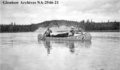 The 'Keego', a canoe on the Athabasca River, in 1933.png