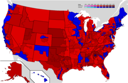 Results by congressional district.