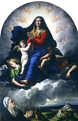 The Apparition of the Virgin