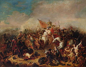 The Battle of Hastings in 1066.JPG