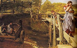 James Clarke Hook - The Brook (1859)