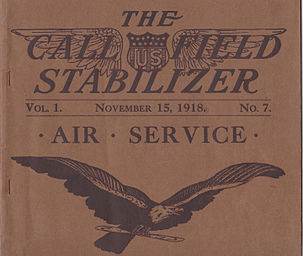 The Call Field Stabilizer Vol.1 No.7, November 15, 1918.