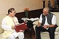 The Chief Minister of Arunachal Pradesh, Shri Nabam Tuki meeting the Union Minister for Civil Aviation, Shri Ashok Gajapathi Raju Pusapati, in New Delhi on July 17, 2014 (1).jpg