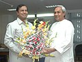 The Chief Minister of Orissa, Shri Naveen Patnaik calls on the Union Minister for Shipping, Road Transport and Highways, Shri T. R. Baalu, in New Delhi on May 15, 2007.jpg