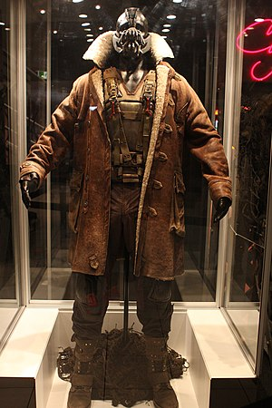 Bane in other media - A mannequin of Bane from The Dark Knight Rises
