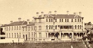 Esplanade Hotel (Melbourne) - The Esplanade Hotel circa 1885