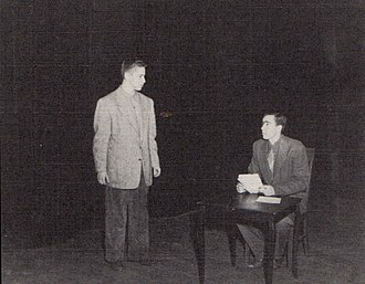Percival Wilde - Production of The Finger of God at Shimer College in 1952.
