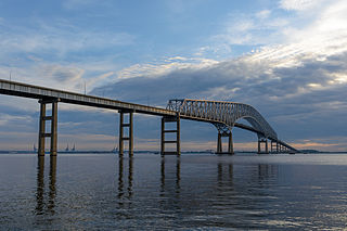 Francis Scott Key Bridge (Baltimore) toll bridge in Maryland