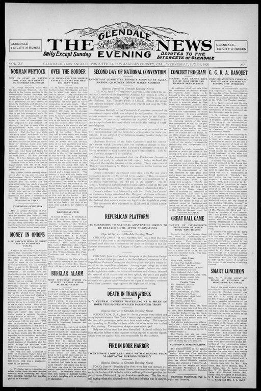 File:The Glendale Evening News 1920-06-09 (IA cgl 004098).pdf ...